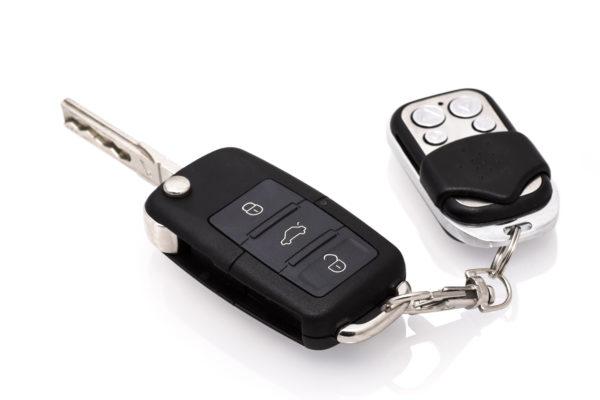 ключи от машины с чипом