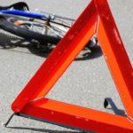 Сбитый велосипедист