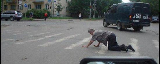 Наезд на пешехода пешеходном переходе ответственность